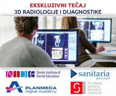 EKSKLUZIVNI TEČAJ 3D RADIOLOGIJE I DIJAGNOSTIKE